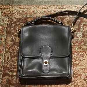 Vintage Black Coach Handbag